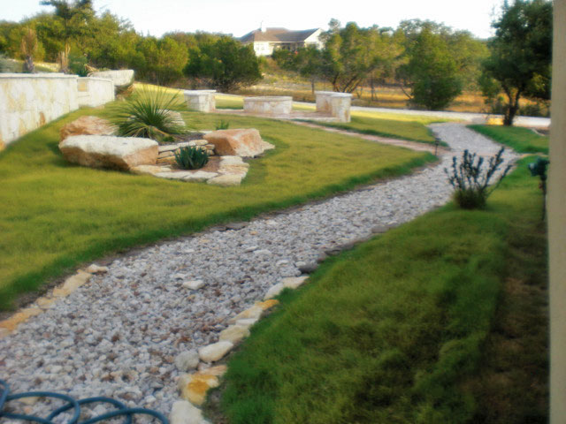 Dry River Bed Drainage